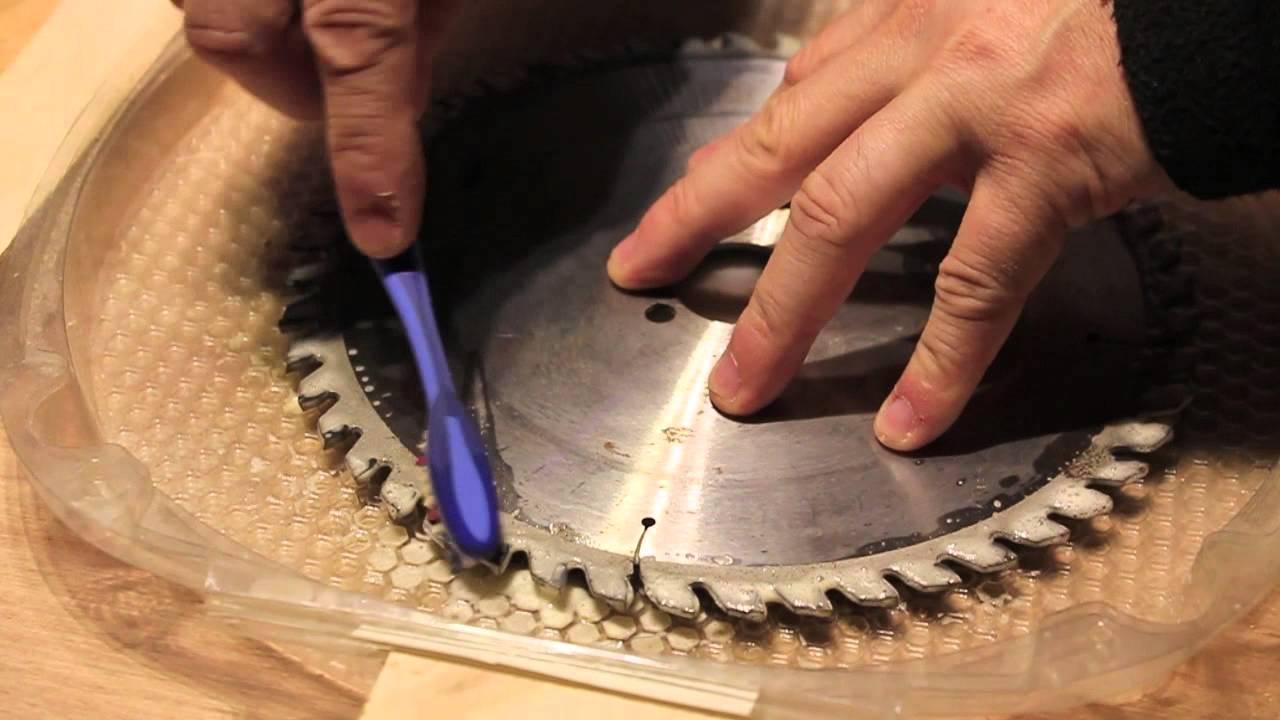 affuter lame scie circulaire
